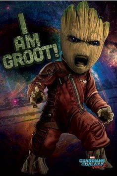 Guardians Of The Galaxy Vol 2 Angry Groot Maxi Poster