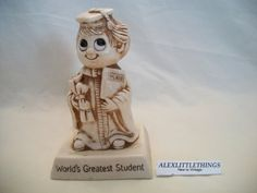 Russ Berrie Sillisculpt WORLD'S GREATEST by ALEXLITTLETHINGS, $13.00