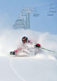 Tons of powder- follow us www.helmetbandits.com like it, love it, pin it, share it!