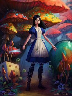 Alice: Madness Returns collaboration by *Viccolatte on deviantART