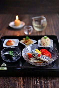 「定番惣菜のお膳」|レシピブログ Sushi Recipes, Asian Recipes, Ethnic Recipes, Chinese Food, Japanese Food, Keto Diet For Beginners, Food Design, Food Photo, Food Styling