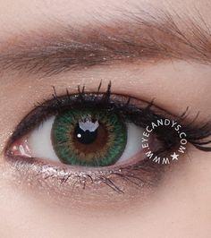 PHANT AUTUMN paire lentille de couleur kontaktlinsen contact verte green lens