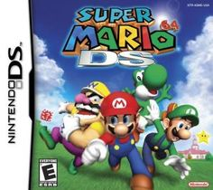 Shop Super Mario 64 DS — PRE-OWNED Nintendo DS at Best Buy. Find low everyday prices and buy online for delivery or in-store pick-up. Ds Games, Mini Games, Toys R Us, Nintendo Switch, Mario Kart Ds, Cluedo, Nintendo Console, New Super Mario Bros, Power Star