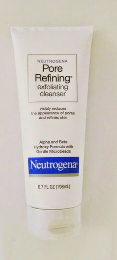 The Budget Beauty Blog: Neutrogena Pore Refining Exfoliating Cleanser Review