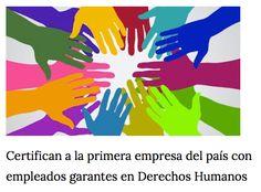 [Prensa - El Pueblo]  Certifican a la primera empresa del país con empleados garantes en Derechos Humanos: http://on.fb.me/1Qc95MI