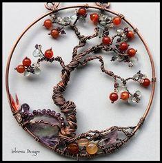 alambre y perlas