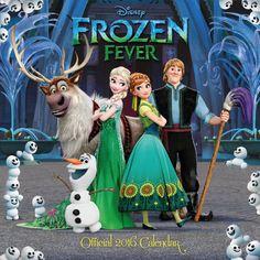 The Official Disney Frozen Fever 2016 Square Calendar: 9781780549071: Amazon.com: Books