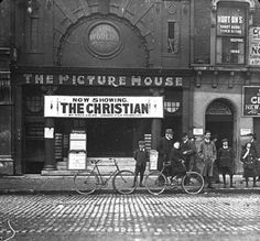 c: 1912 Ireland Pictures, Old Pictures, Old Photos, Dublin Street, Dublin City, Cinema Theatre, Photo Engraving, Ireland Homes, Local History