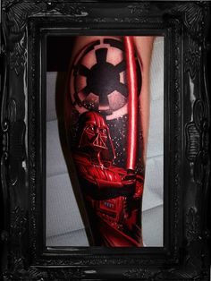 star wars tattoos | Star Wars Darth Vader Empire