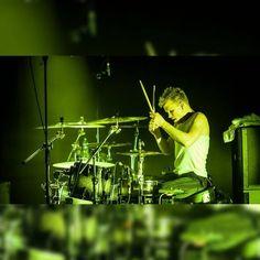 Aki Hakala The Rasmus, Black Feathers, Drummers, Concert, Ecuador, Concerts