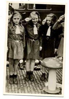 K1358 Scouting Dutch Royalty Queen Beaxtrix Gnome Gre   eBay