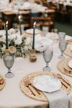 Emma + Conor's Hardy Farm Wedding Farm Table Wedding, Wedding Guest List, King Photography, Wedding Glasses, Sweetest Day, Table Settings, Place Settings, Wedding Napkins, Wedding Season