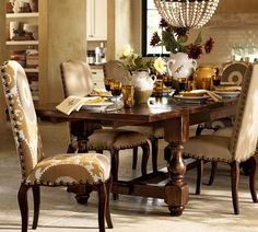 Only 4 more days and I will have this beauty in my dining room :-) Cortona Extending Dining Table | Pottery Barn