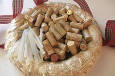 Have you ever seen those Wine Cork Wreaths? Want to see how to make one? Here is a step by step how-to link for the Wine Cork Wreath. Would make for a great gift or decorative piece for your home!  If you don't have enough corks, don't worry about that. We have plenty for everyone! www.winecorkdeals.com