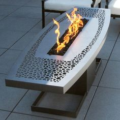 Outdoor Coffee Table Fire Pit  firepits