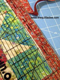 Tutorial How to do Self Binding on a Quilt
