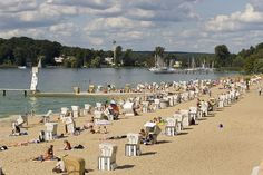 ღღ Strandbad Wannsee | Lake Wannsee by visitBerlin, via Flickr