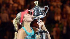 Kerber siegt im Australian-Open-Finale: Angie, Du bist der Tennis-Wahnsinn! http://www.bild.de/sport/mehr-sport/angelique-kerber/angie-du-bist-der-tennis-wahnsinn-44365124.bild.html