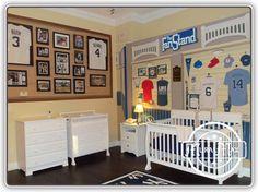 MuralMax Interiors  Design Ideas, Pictures,  New York Yankees Fan Room Mural By http://MuralMax.com   The room was designed for the ultimate Yankee fan. The background of all the walls has a vintage stone face look just like Yankee stadium. The feeling you get when walking in this room is like being at the New York Yankees store ! Every Yankee product available is on sale here, and was hand painted, and has a very three dimensional look.