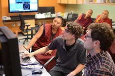 Stanford studies monks' meditation, compassion.