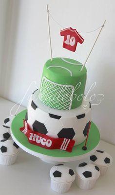 Football / Soccer Cake