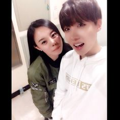 jhope with sister