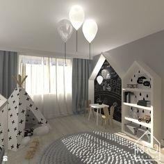 Pokój dziecka styl Skandynawski - zdjęcie od KRUdesign - Pokój dziecka - Styl Skandynawski - KRUdesign