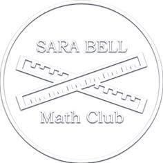Crossing Rulers Math Club Embosser image