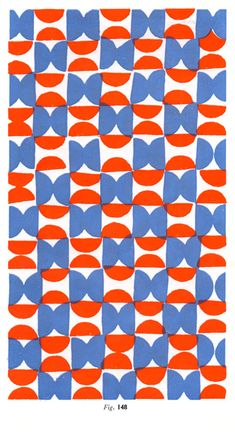 Audrey, 10/1: This is a potato print, which I think is really neat! I love the color combination--since the red and blue are slightly altered (it seems like the red has a tint of orange, and the blue is lightened) it keeps the primary color combo from looking juvenile.