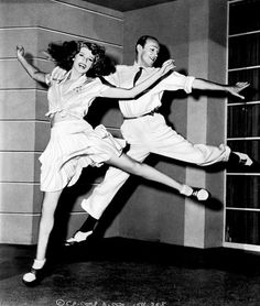 Fred Astaire + Rita Hayworth    Fred & Rita remind us to have a little fun once in awhile (in style, of course)!