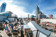 PatioWeather: 18 of the Best Patios in Nashville — Native in Nashville Nashville Restaurants Best, Nashville Vacation, Nashville Tennessee, Nashville Bars, Nashville Downtown, East Tennessee, Oh The Places You'll Go, Places To Visit, Best Rooftop Bars