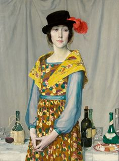 "William Strang: ""The Buffet"", 1917."