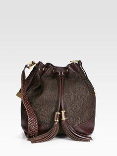 Leather Bucket Bag by Rachel Zoe ##Bucket_Bag #Rachel_Zoe