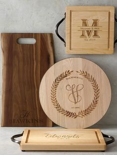 Serve delicious charcuterie, drinks or snacks to family, friends and guests with a bit of personal flair. Your name or short phrase is laser engraved into a hand-sanded walnut board with organically shaped, natural edges on two sides. It is finished with durable butcher block oil to both protect the wood and bring out its natural grain.