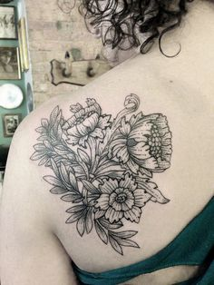 Tattoo by Sue Jeiven by eastrivertattoo, via Flickr