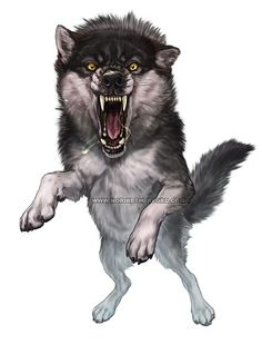 Wolf Battler by KlakKlak on DeviantArt Snarling Wolf, Wolf Hybrid, Werewolf Art, Fantasy Wolf, Armadura Medieval, Tiger Art, Animal Drawings, Wolf Drawings, Wolf Love
