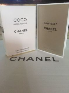 2X  Chanel Gabrielle & CoCo Mademoiselle Samples Spray NEW!!! | eBay