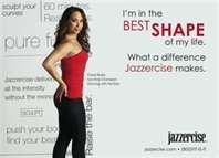 Get in shape with Jazzercise and burn up to 600 calories in one hour. 60 minutes...600 calories...One fabulous dance floor!  More information at 800.FIT.IS.IT or jazzercise.com.