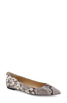 MICHAEL MIchael Kors 'Arianna' Pointy Toe Flat (Women) available at #Nordstrom