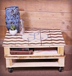 How to make the perfect pallet coffee table pallet coffee tables do you love the look of a big fluffy ottoman but do not like the price solutioingenieria Choice Image