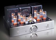 Cayin A-100T Integrated Amp Cayin's A-100T's retro vacuum tube design offers a sweet face – but, the rare 1950s point-to-point wiring is the source of its amazing sound. Fined-tuned in Germany by a team of specialists, this hand-built beauty comes freshly loved to your A/V super-system. $3295