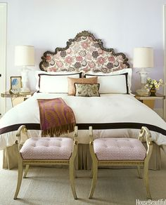 8 Best Romantic Bedroom Designs to Gain Relationship Goal # Decoration The Effective Pictures We Offer You About feng shui bedroom decorating A quality picture can tell Lilac Bedroom, Bedroom Decor, Lavender Bedrooms, Bedroom Ideas, Lilac Walls, Bedroom Pictures, Bedroom Inspiration, Dream Bedroom, Lavender Walls