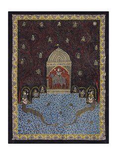 Goddess Sagat Mata Ni Pachedi Kalamkari Artwork