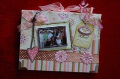 A scrapbooked photo album from my Fab 11 friends back in Kansas city.  My husband and I moved to Indiana in 2008.