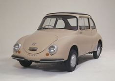 The 1958 Subaru 360 was the first automobile mass produced by Subaru.