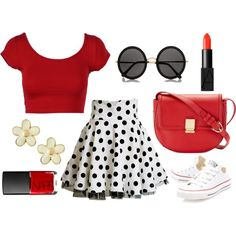 A fashion look from November 2014 featuring cropped shirts, a-line skirts and converse sneakers. Browse and shop related looks. Converse Sneakers, Crop Shirt, A Line Skirts, Fashion Looks, Polyvore, Stuff To Buy, Shirts, Shopping, Dress Shirts