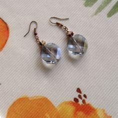 PREMIER DESIGNS JEWELRY...MARIE..earrings Stunning earrings, genuine tiger's eye, beautiful faceted glass that glistens, fishhook. Premier Designs Jewelry Earrings