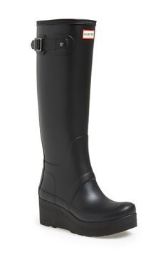 Womans Tall Wedge Rain Boot | Fashion Boots | Hunter Boot Ltd - I ...