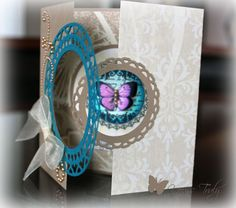 Butterfly Gatefold Card by YoursTruly - Cards and Paper Crafts at Splitcoaststampers