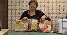 Using One Charm Pack, Learn How To Make Three Totes/Purses!
